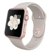 Apple Watch Sport 42mm with Sport Band Rose Gold / Stone (бежевый)