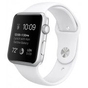 Умные часы Apple Watch Sport 42mm with Sport Band White