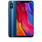 Смартфон Xiaomi MI8 6/64GB Синий/Blue (Global Version)