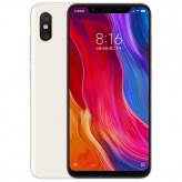Смартфон Xiaomi MI8 6/64GB Белый/White (Global Version)