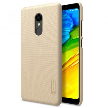 Накладка Nillkin Super Frosted Shield для Xiaomi Redmi 5 (Золотистая)