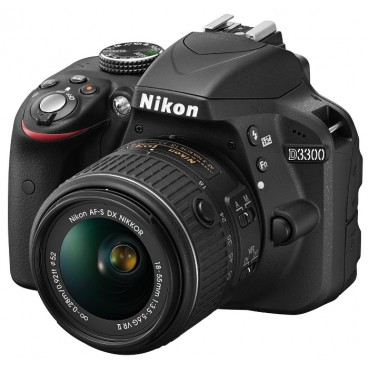Nikon D3300 Kit 18-55 II Black